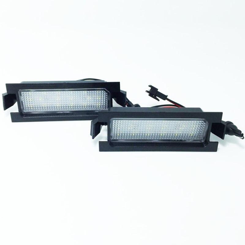 HOPSTYLING 2x Canbus 18 SMD lemputės numerio ženklo apšvietimas - Automobilių žibintai - Nuotrauka 2
