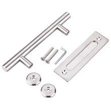 304 Stainless Steel Sliding Barn Door Pull Handle Wood Door Handle Door Handles For Interior Doors Handle цена и фото