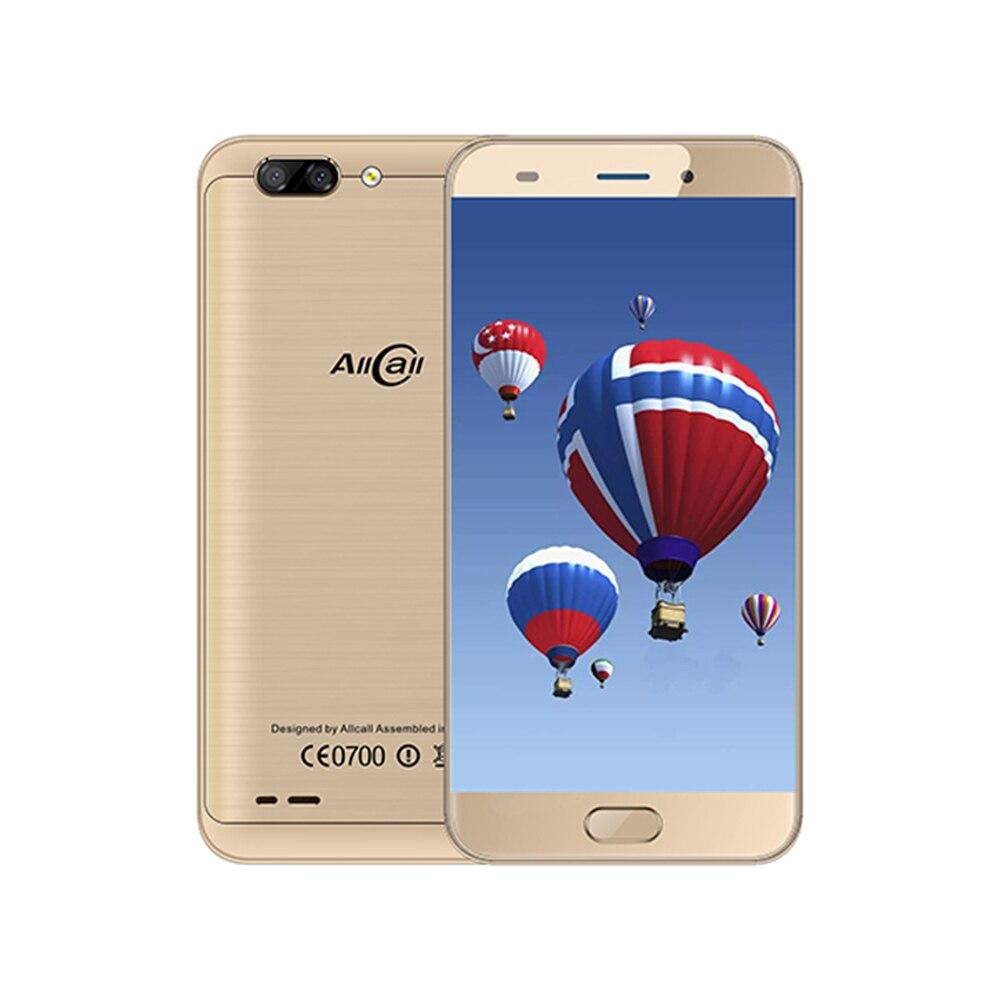 "AllCall Atom 4G Smartphone 5.2"" Android 7.0 MT6737 Quad Core 2100mAh 2GB RAM 16GB ROM 8MP+2MP Dual Cameras OTG Mobile Cellphone"