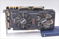 Used,original ASUS GTX 760 2GB GDDR5 256Bit DVI HDMI graphic card