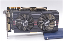 Verwendet, original ASUS GTX 760 2 GB GDDR5 256Bit DVI HDMI grafikkarte