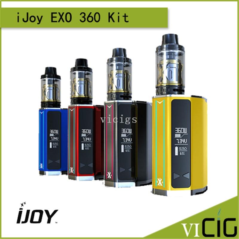 100% Original IJOY EXO 360W Kit With 360 TC VW Mod EXO XL Tank