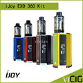 100% original ijoy exo exo 360 w kit com 360 tc vw mod tanque xl