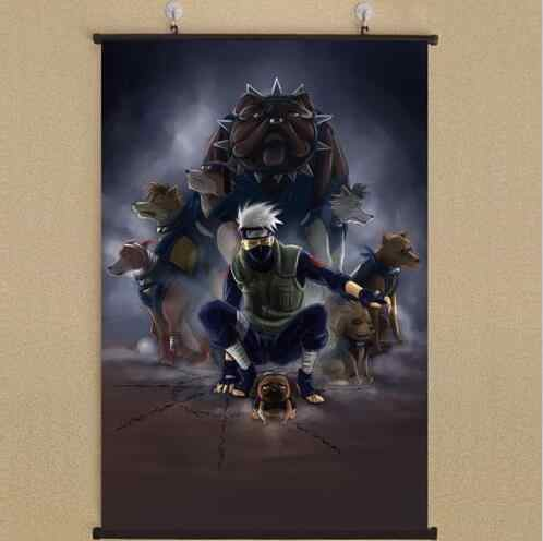 40X60CM Anime poster  Naruto Shippuden Kakashi Hatake Home Decoration Wall Scroll Japanese cartoon Decorative poster