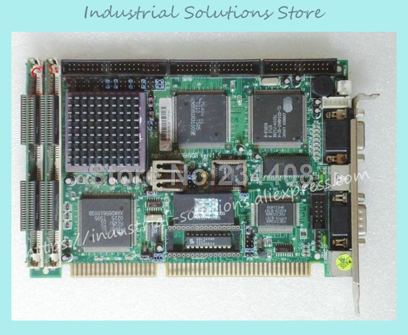 HS5X86HVGA VER:1.6 Industrial Motherboard half-length cards 100% tested perfect quality interface pci 2796c industrial motherboard 100% tested perfect quality