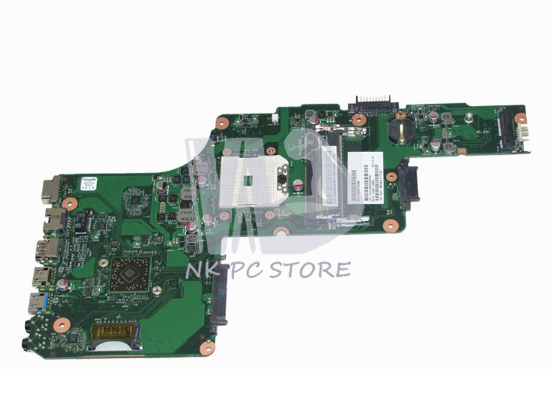 V000275280 Main Board For Toshiba Satellite C850D C855D Laptop Motherboard Socket fs1 DDR3 nokotion for toshiba satellite c850d c855d laptop motherboard hd 7520g ddr3 mainboard 1310a2492002 sps v000275280