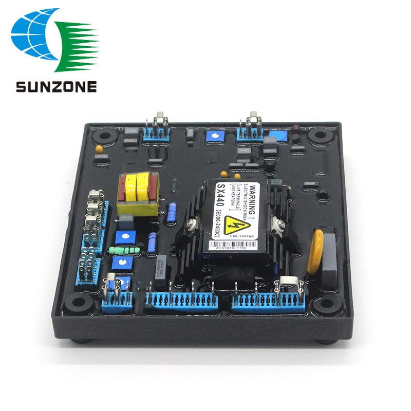 Automatic Voltage Regulator AVR SX440 For Generator Parts Including Free AccessoriesAutomatic Voltage Regulator AVR SX440 For Generator Parts Including Free Accessories