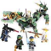 592 pcs Film Série Vol mecha dragon Building Blocks Briques Jouets Enfants Modèle Cadeaux Compatible Avec LegoINGly NinjagoINGly