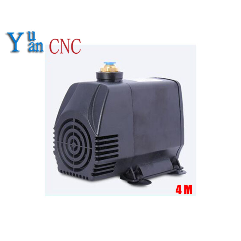 8mm water nozzle submersible water pump 95w 220V water pump for cnc router spindle motor Engraving machine pumps 4m