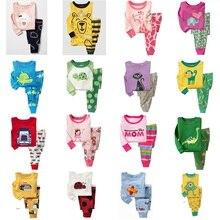 Купить с кэшбэком Children Clothes Kids Clothing Set Boys Pajamas Sets Car Styling Nightwear Print Pajamas Girls Sleepwear Baby Pyjama