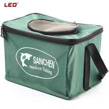 Folding LEO Live Fish Box Professional Fishing Tackle Accessories Container Bucket Plastic Carp Rod Bucket Water Tank Water Box