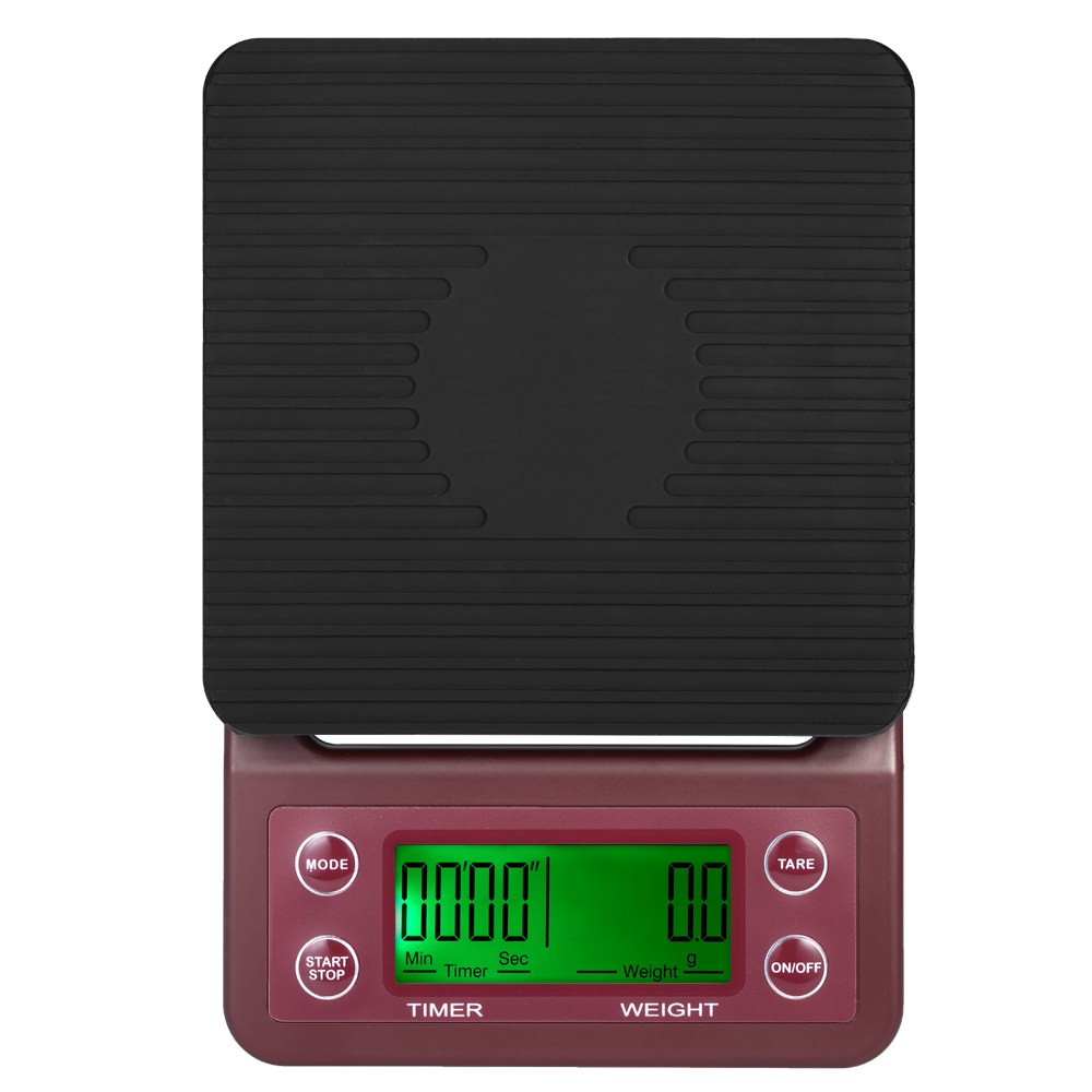 Meterk 5kg/0.5g Coffee Drip Scale Accurate Electric Kitchen Scale with Large Clear LCD Display with Timer and Tare Function meterk измерять вольтажэлектрический ток
