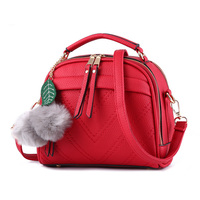 Summer Tassel Women Shoulder Bag Casual Messenger Bag All Match Women Bag Color Red Gray Green