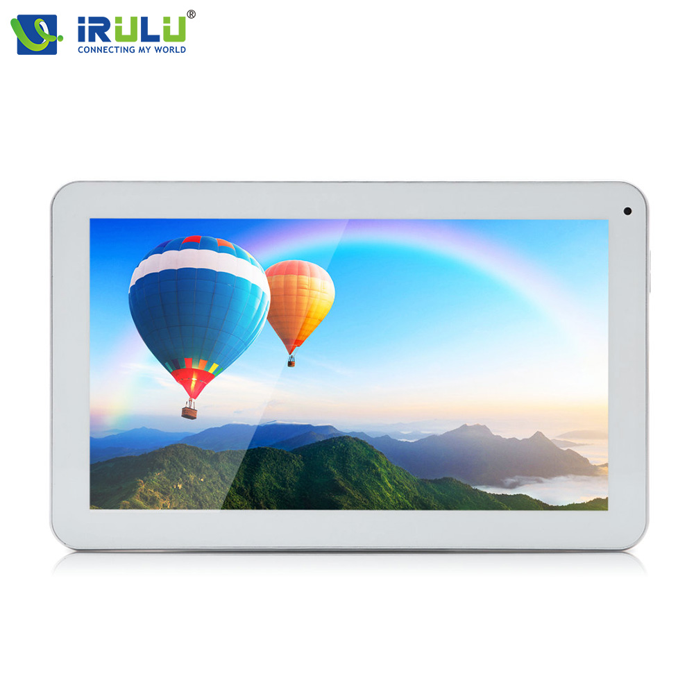 iRULU X98 Plus 10.1 inch Android 6.0 Tablets Quad Core ROM 8GB 1024x600 HD Tablet PC GMS Certified Bluetooth WiFi Touch Panel hd 4kx2k s905 quad core 2 4ghz wifi
