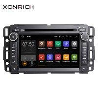 Xonrich автомобильный мультимедийный плеер Стерео Авторадио gps DVD для Chevrolet GMC Hummer Yukon Denali Acadia Buick, TahoeExpress