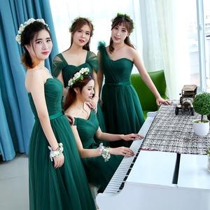 Image 4 - KSL133 Free shipping Emerald New new long  bridesmaid dresses Wedding party dress