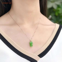 Certified Natural Hetian Jade Jasper Inlaid With 18K Gold Lucky Pixiu Pendant Hand Carved High Quality  S925 Necklace Best Gifts certified natural hetian jade jasper inlaid 18k gold lucky gourd jade pendant high quality hand carved s925 necklace best gifts