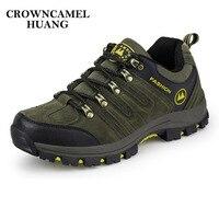 2017 Man Waterproof Breathable Hiking Shoes Outdoor Boots Trekking Sport Sneakers Men Waterproof Tourism Shoes Climbing