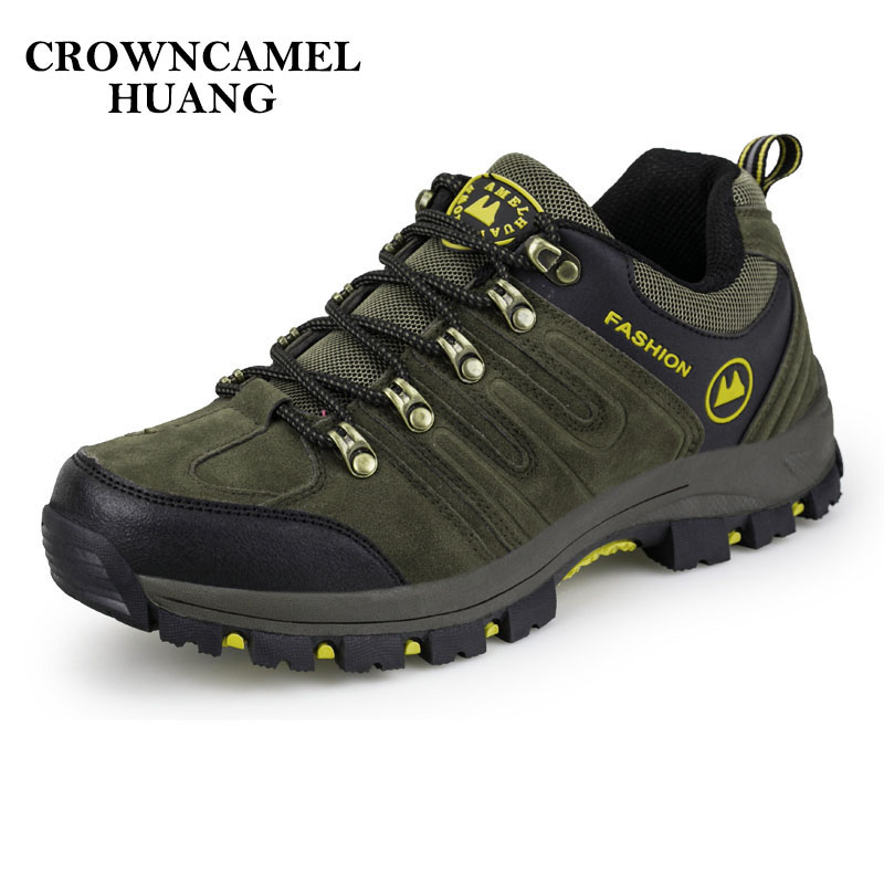 2017 Man Waterproof Breathable Hiking Shoes Outdoor Boots Trekking Sport Sneakers Men Waterproof Tourism Shoes Climbing