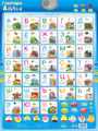 Special Russian language electronic baby ABC alphabet sound chart infant early learning education phonetic chart