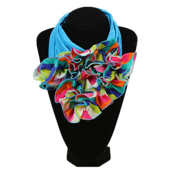 2020 New Neck Scarf For Ladies Luxury Brand Womens Fashion Neckerchief Ring Scarves Floral Collar Women