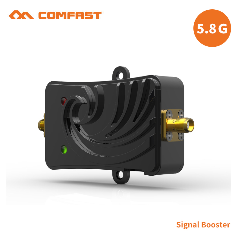 5000MW Wifi Wireless Broadband Amplifier 5.8Ghz Power Range Signal Booster for wifi router to let the wifi signal stable/strong new 2pcs 5w 5 8ghz wifi wireless broadband amplifier plug and play 802 11b g n high power range signal booster for wifi router