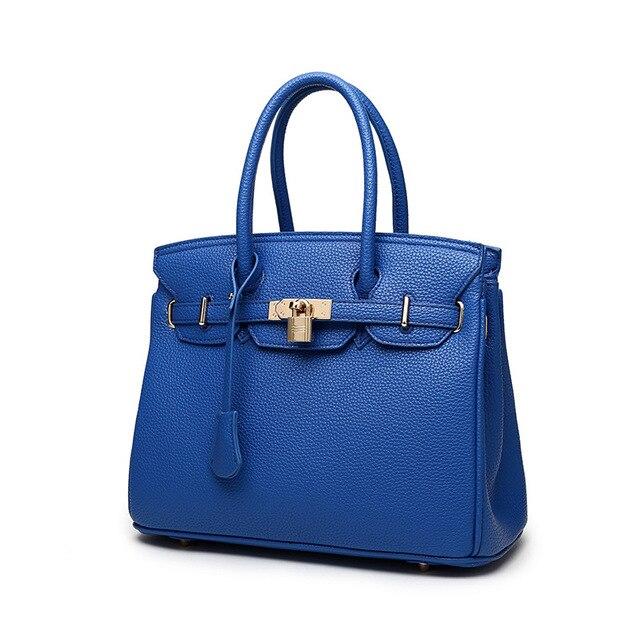 Подлинная кожаная сумка роскошные сумки высокого качества верхнюю ручку классический наплечные сумки разработаны bolsa feminina 8 цветов