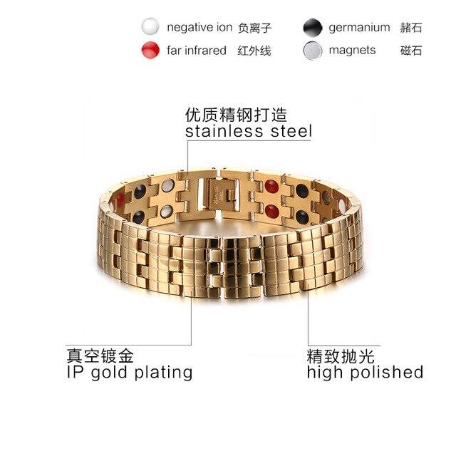 модные ювелирные изделия золотого цвета из нержавеющей стали фотография