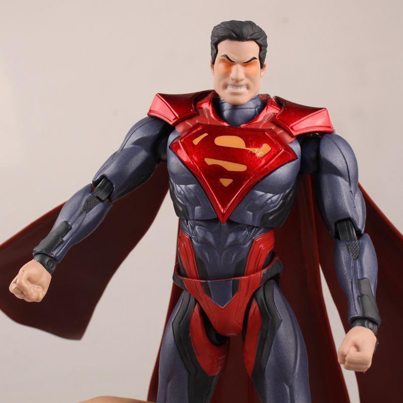 NEW hot 16cm Super hero superman Justice league movable Action ...