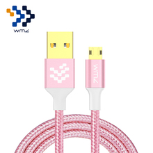 WMZ Reversible Micro USB Cable 2A Charge Mobile Phone Charging Data Charger for Samsung Huawei S6 P8 Xiaomi Redmi 4X