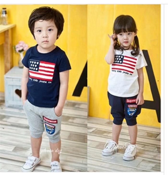 2015. gada jaunais 3-8 gadus vecais bērnu apģērbs Tērpu tērpa - Bērnu apģērbi - Foto 2