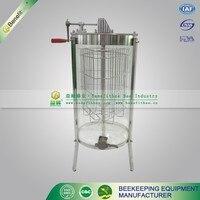 beekeeping equipment 3frames manual transparent acrylic honey extractor plastic honey extractor