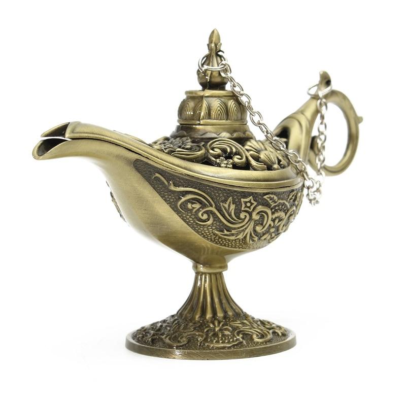 KiWarm Traditional Hollow Out Fairy Tale Aladdin Magic Lamp Tea