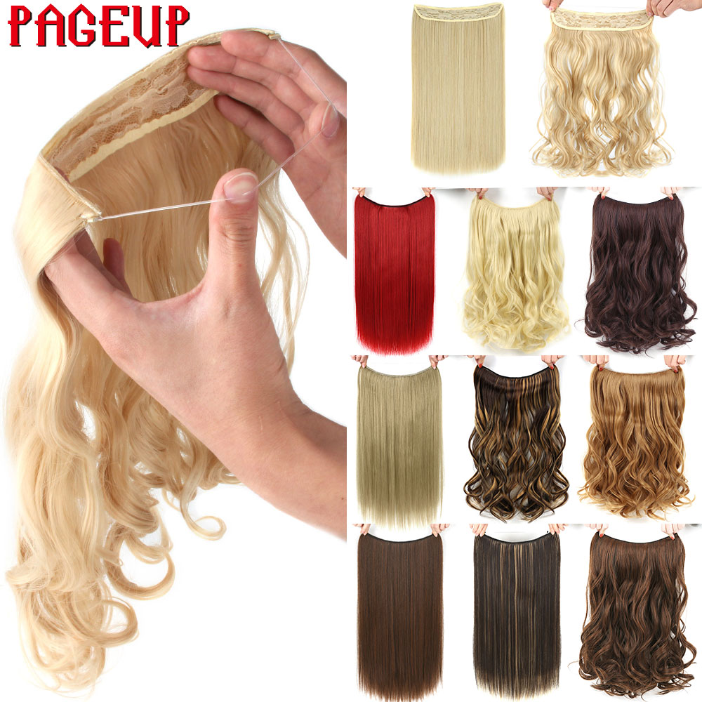 pageup 20 inches blonde hair extension