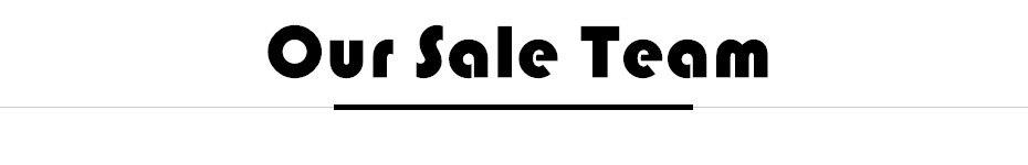 our sale team