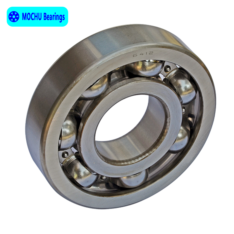 1pcs Bearing 6412 60x150x35 MOCHU Open Deep Groove Ball Bearings Single Row High Quality 6007rs 35mm x 62mm x 14mm deep groove single row sealed rolling bearing