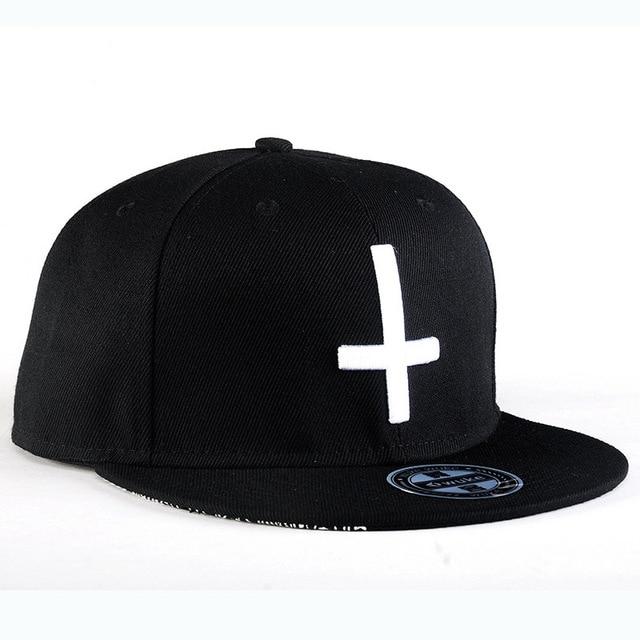 2018 gorras planas estilo caliente Cruz flor impresión gorra de béisbol  sombrero plano hip hop del f7d4920d774