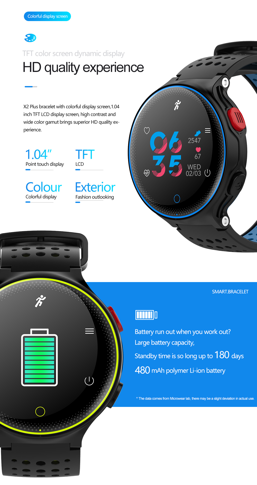 X2 smart Sports Health Bracelet in bd