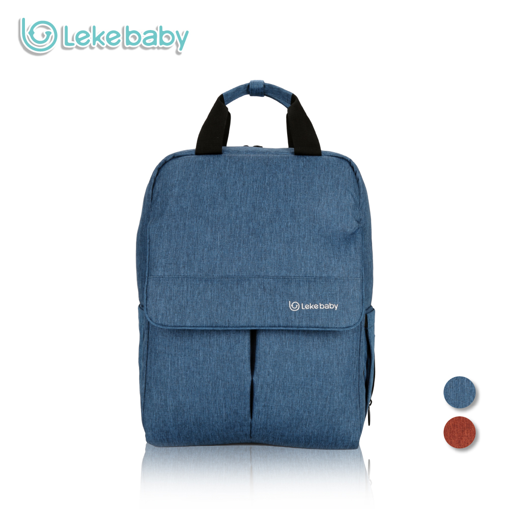 Lekebaby Fashion Maternity Bag Diaper Bag Backpack for Baby Care Large Capacity Travel Tote Bag for Stroller