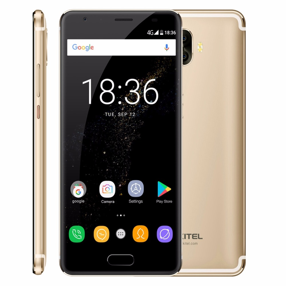 Original Oukitel K8000 4G LTE Handy 4 GB RAM 64 GB ROM MT6750T Octa-core Android 7.0 5,5 ''HD 8000 mAh 13MP Fingerabdruck OTG