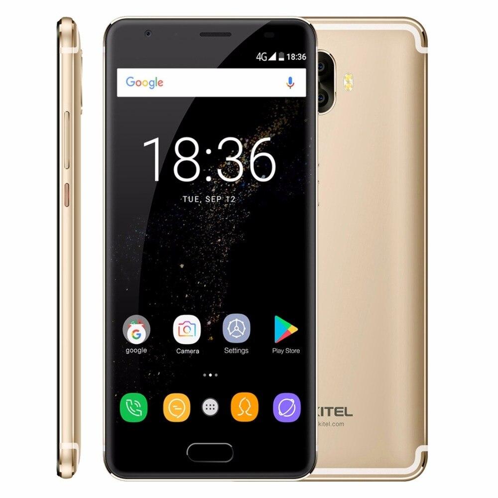 """Оригинальный Oukitel K8000 4 г LTE мобильный телефон 4 ГБ Оперативная память 64 ГБ Встроенная память mt6750t Octa core android 7.0 5.5 """"HD 8000 мАч 13MP отпечатков пальцев OTG"""