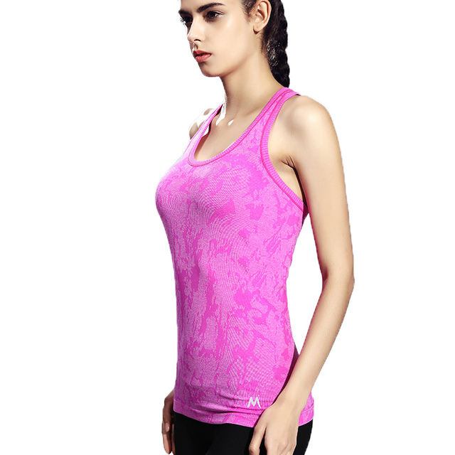 Sleeveless Breathable Quick Dry Women Tank Top