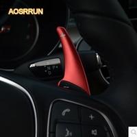 AOSRRUN Aluminum alloy shift dial Gear modification Car Accessories For Mercedes C Class A Class B Class E Class S Class CLA GLA
