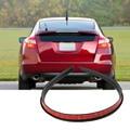 De alta Resistencia 117 cm Rueda Ceja Arco Decorativo Tira de Neumáticos de Coche De fibra de Carbono de la Ceja para la Ronda De Goma Auto Pegatinas Protectoras