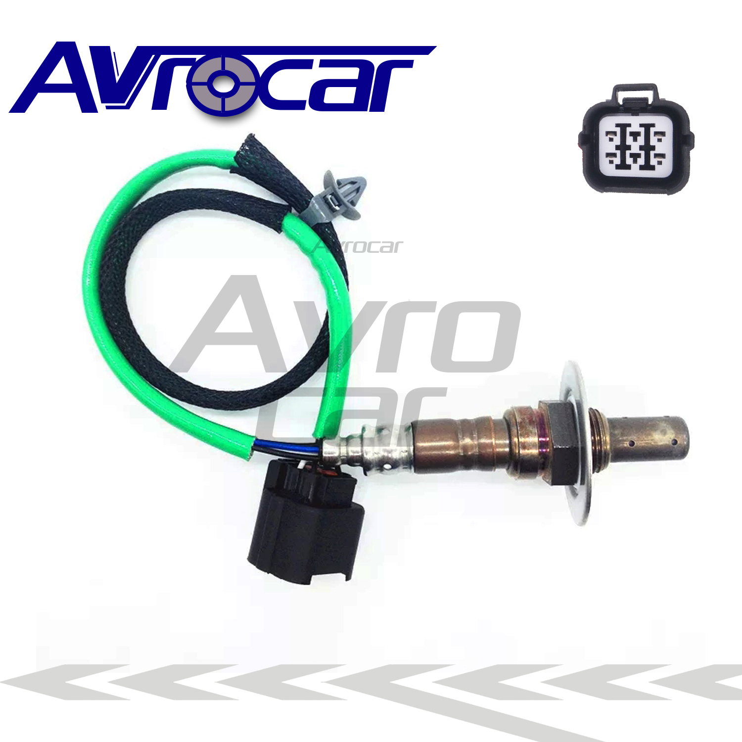 AVROCAR O2 Oxygen Sensor <font><b>22641AA480</b></font> 22641-AA480 Fit For SUBARU FORESTER IMPREZA LEGACY DOX-0361 4 Wires Upstream Front Lambda image