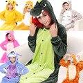 Mulheres Pijama de Flanela Com Capuz Adulto Animais Pijama Unicórnio Outono E Inverno Conjuntos de Pijama Sleepwear Bonito Dos Desenhos Animados