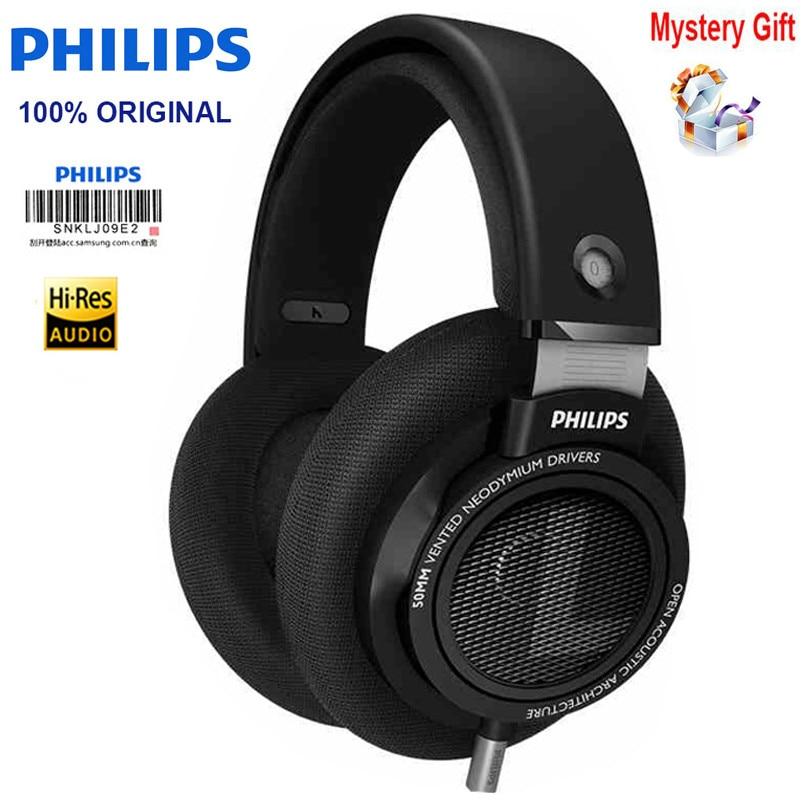 オリジナルフィリップス SHP9500 ヘッドホン 3.5 ミリメートル有線銀河 S8 用 3 メートルの長さ/s9 huawei Xiaomi MP3  グループ上の 家電製品 からの ヘッドホン/ヘッドセット の中 1