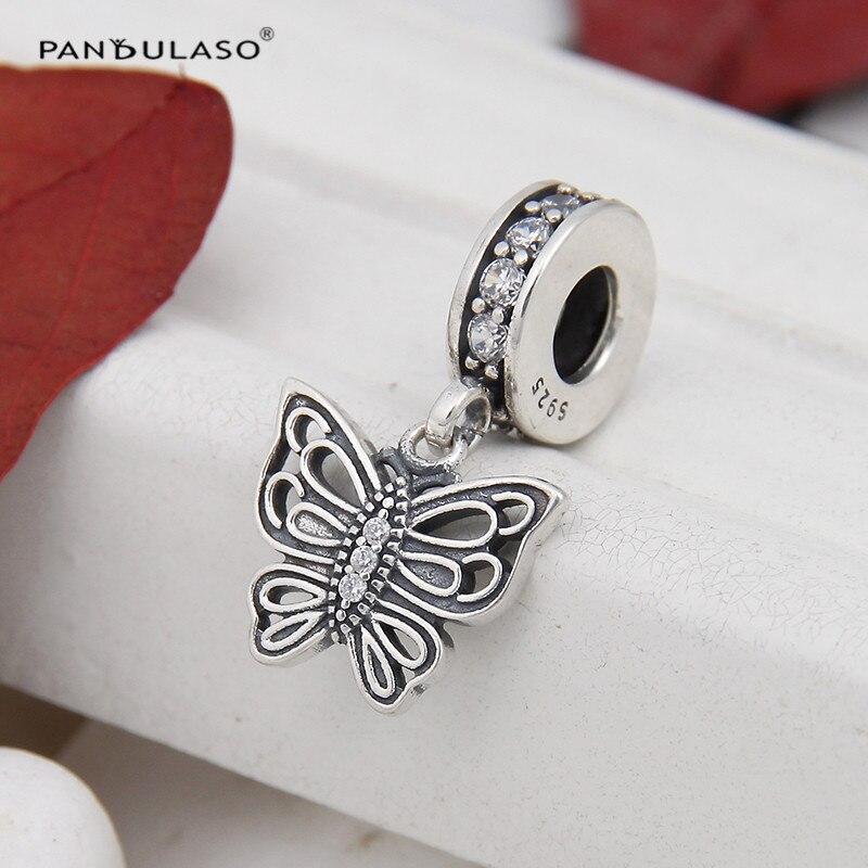 balas 925 plata entre piezas bastones DIY vintage joyas spacer perlas