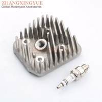 70cc Cylinder Head for 2 stroke Cylinder Head for Meteorit (ATU) KB 50 47mm