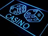 I347 B Casino Dice Lucky Game Bar Pub Neon Light Sign